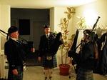 Die Pipers zur Begrüßung