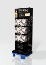 Chivas Regal Bremont Display