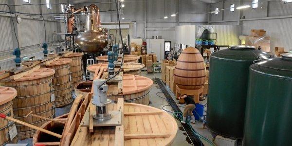 Die Produktionshalle bei Chichibu