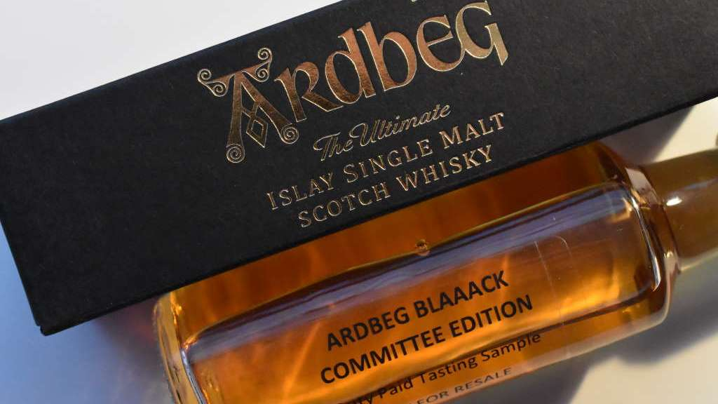 Ardbeg Blaaack Committee Edition Sample