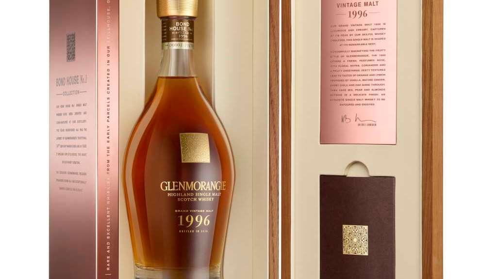 Glenmorangie Grand Vintage 96 Box open