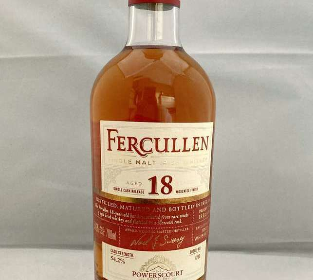 Fercullen 18 Jahre Moscatel Single Cask Whiskey - Irish_Whiskeys
