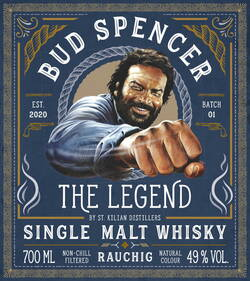 Bud Spencer The Legend rauchig St. Kilian Etikett