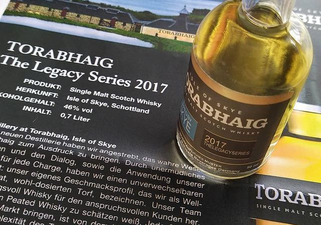Torabhaig The Legacy Series 2017 Samples