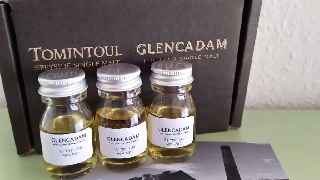 Glencadam Core Range Samples
