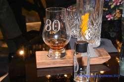 Gordon & MacPhail 80 Jahre Glenlivet 1940 Glas und Sample