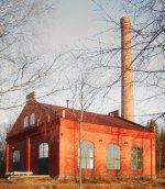 Die Destillerie in einem alten Kraftwerk