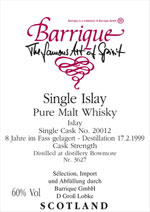 Barrique Single Islay Malt (c) barrique-shop.de