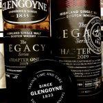 Flasche, Tube und Deckel des Glengoyne Legacy Chapter 1