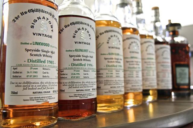 Signatory Bottles