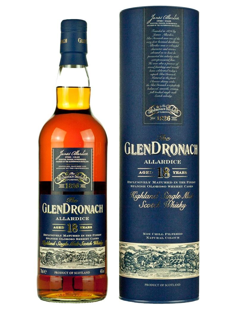 WhiskyIntelligence.com » Blog Archive » Glendronach 18 Year Old Allardice at The Whisky Barrel – Scotch Whisky News - whisky industry press ...