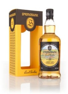 Springbank 16 local barley
