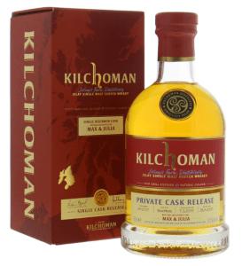 Kilchoman 13 yo Max & Julia Bourbon cask # 69