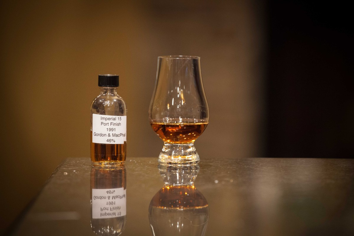 Imperial 15 Port Wood Finish (Gordon & MacPhail 1991) Review