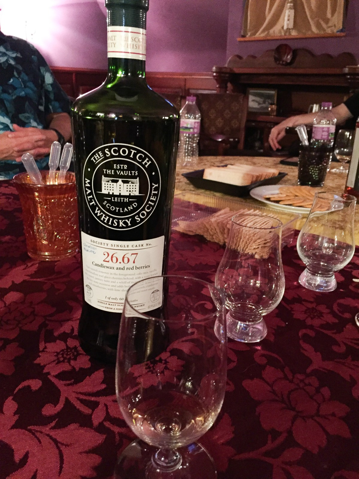 "SMWS 26.67 ""Candlewax and red berries"" (Clynelish 25) Review"