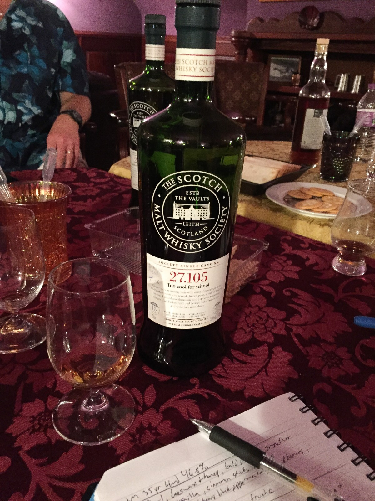 """SMWS 27.105 """"Too cool for school"""" (Springbank 13) Review"""