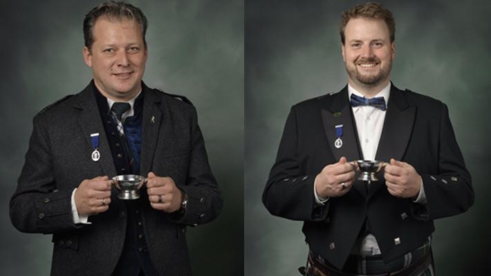 "Christian Schwarzmann und Thomas Plaue zu ""Keepers of the Quaich"" ernannt"