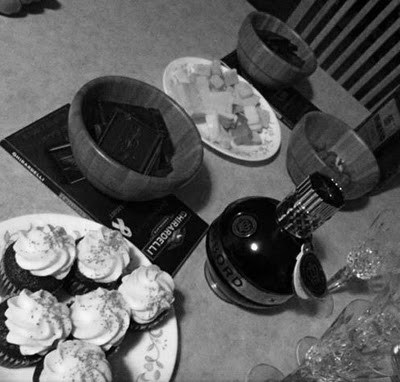 Vermont: local deliciousness cupcakes and wine