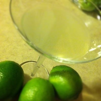 Key Lime Pie Martini for St. Patrick's Day