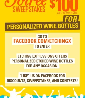 Etching Expressions Sweepstakes