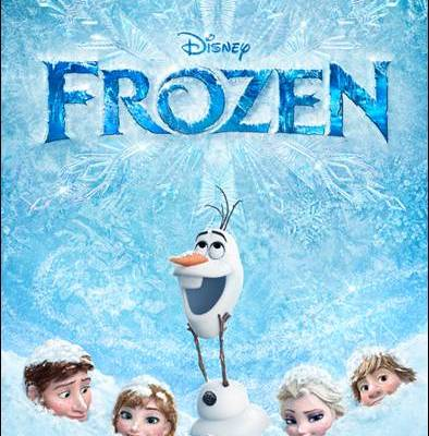 Disney's FROZEN in Theaters Now