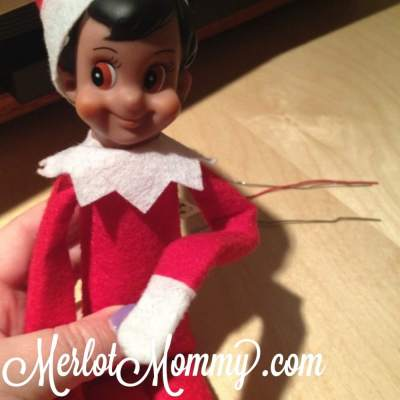 How to Make Your Elf on the Shelf Posable