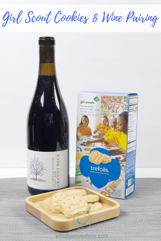 Girl Scout Cookies and Wine Pairing