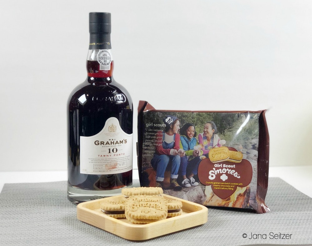 port and s'mores