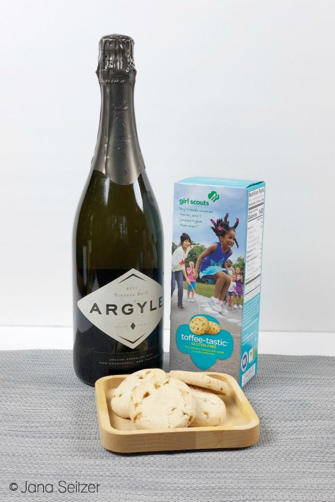 toffee tastic and sparkling wine 1