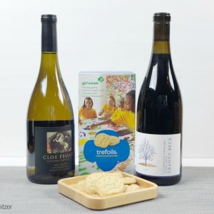 trefoils and chardonnay pinor noir