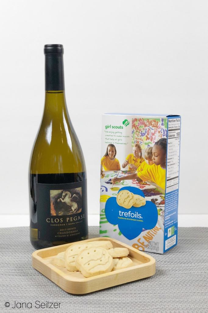 trefoils and chardonnay