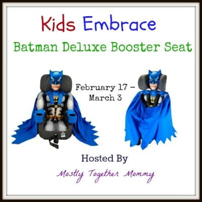 Batman Kids Embrace Booster Seat Giveaway