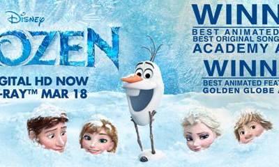 Disney Frozen Wins 2 Academy Awards