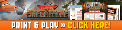 PLANES: FIRE & RESCUE New Activity Sheets Available