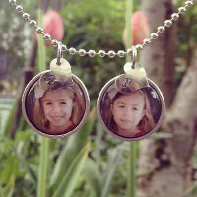 Mother's Day Custom Pendant #Giveaway from ReCollected Pieces