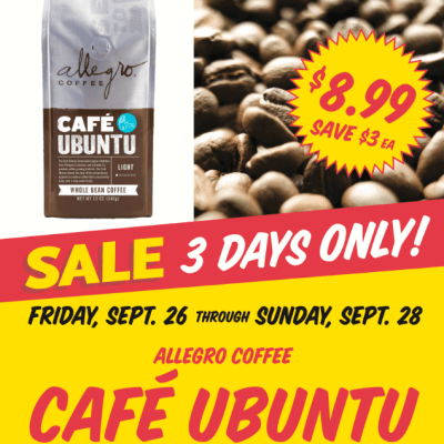 Shrimp Stock-up and International Coffee Day Sales #PDX @WholeFoodsPDX and @WFMwacounty