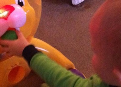 Bright Starts 3 in 1 Step 'n Ride Lion {Review}