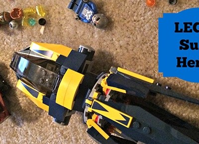 LEGO Super Heroes Line from Marvel and DC Comics Review and #Giveaway
