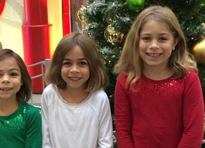 HGTV Unwraps 'Santa HQ' at Washington Square Mall #PDX