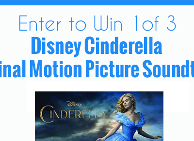 Enter to win the Disney Cinderella Original Motion Picture Soundtrack! #Giveaway ends 3/31 #CinderellaEvent
