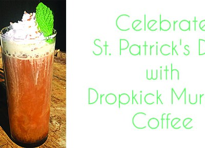 Celebrate St. Patrick's Day with Dropkick Murphy Coffee made with Burnside Bourbon