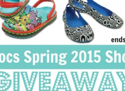 Enter to win a Pair of Crocs #Giveaway ends 4/24