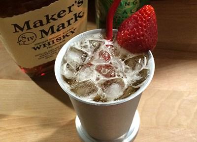 Strawberry Ginger Julep #JulepOff #MakersMark