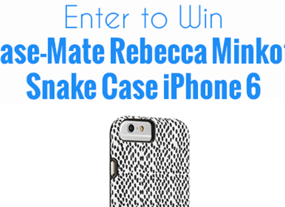 Enter to win a Case-Mate Rebecca Minkoff Snake Case iPhone 6 #Giveaway ends 5/10