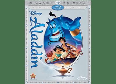 Aladdin: Diamond Edition on Blu-ray 10/13