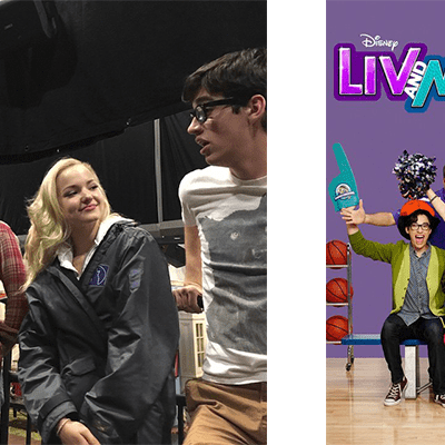 Behind the Scenes of Liv and Maddie #LivandMaddieEvent