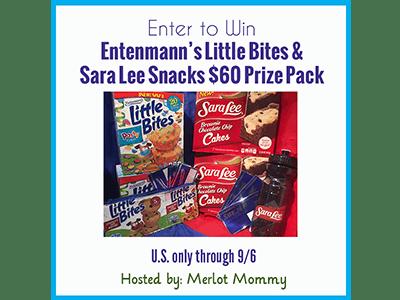 Entenmann's Little Bites and Sara Lee Snacks #Giveaway ends 9/6