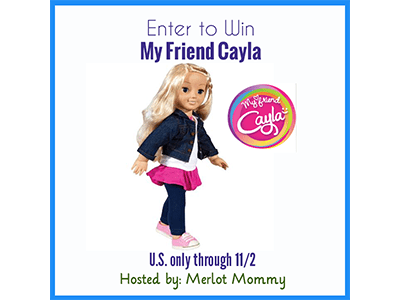 My Friend Cayla: The World's First Interactive Doll + #Giveaway ends 11/2