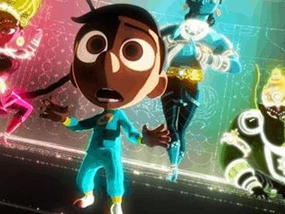 Disney/Pixar's SANJAY'S SUPER TEAM New Clip Available #SanjaysSuperTeam #GoodDino