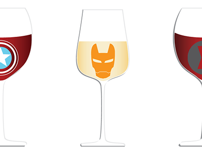If Your Favorite Marvel Characters Were Wine